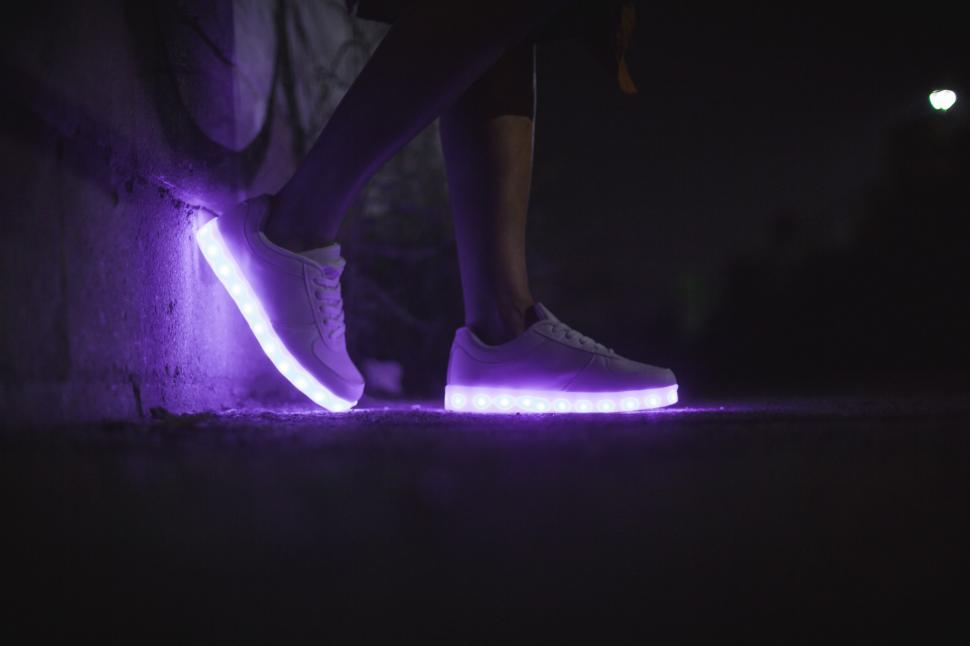 Download Free Stock HD Photo of LED Shoes For Women Online