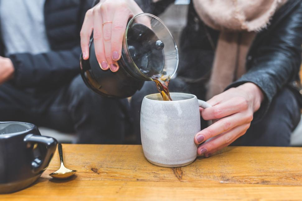 Download Free Stock HD Photo of Pour Over Coffee Online