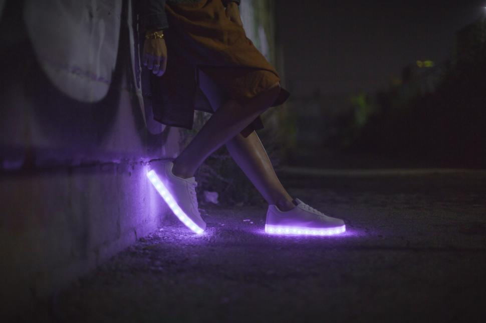 Download Free Stock HD Photo of Womens LED Shoes Online