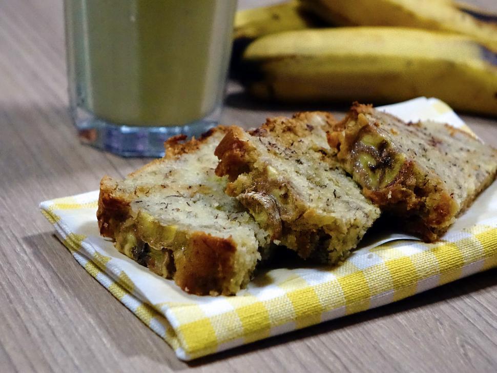 Download Free Stock HD Photo of Banana Cake Online