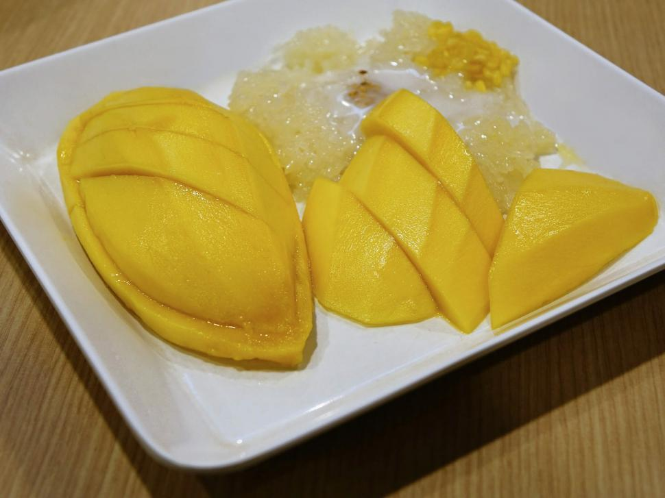 Download Free Stock HD Photo of Sliced Mango Online