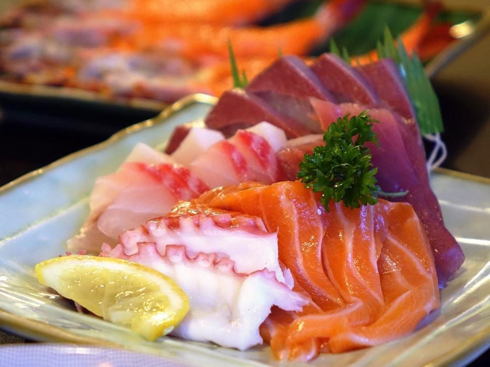 Get Free Stock Photos of Sashimi Dish, Raw Fish Online | Download ...
