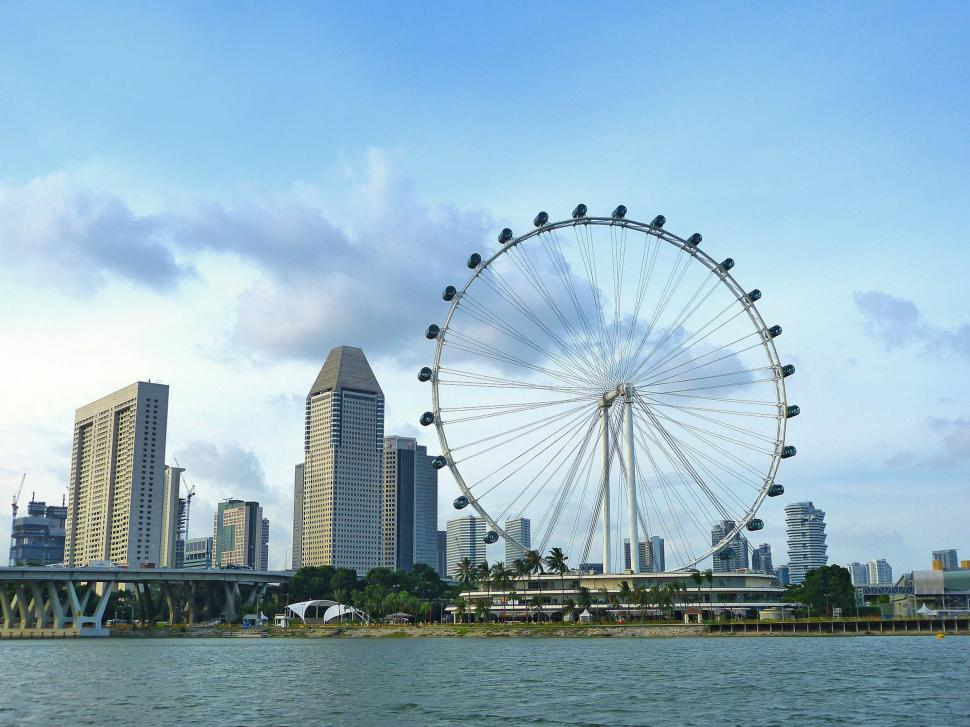 Download Free Stock HD Photo of Singapore City View Online