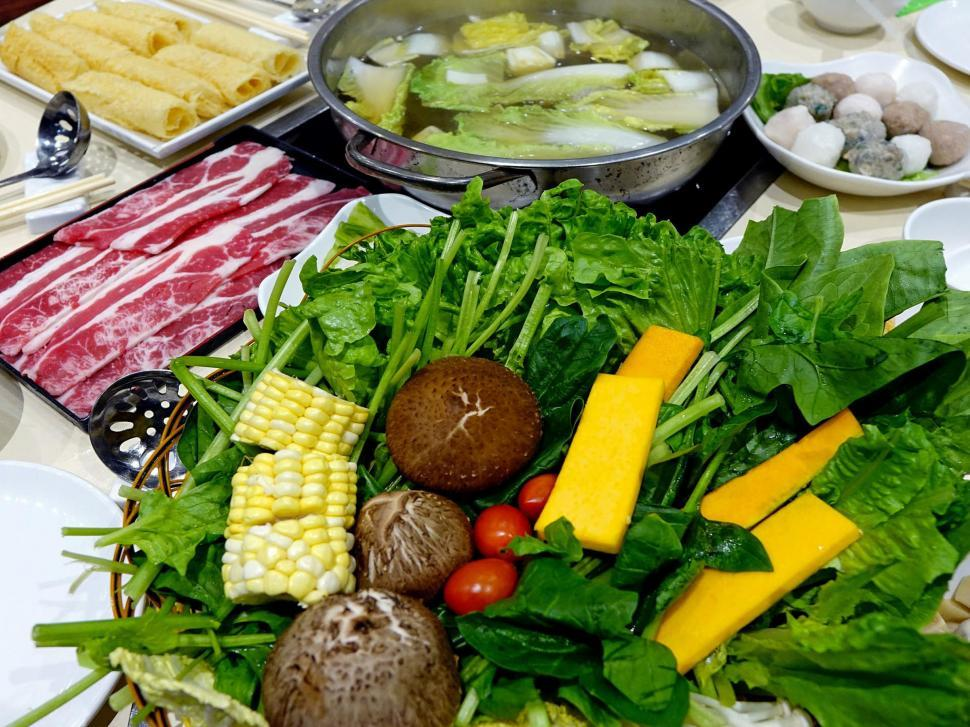 Download Free Stock HD Photo of Steamboat meal Online