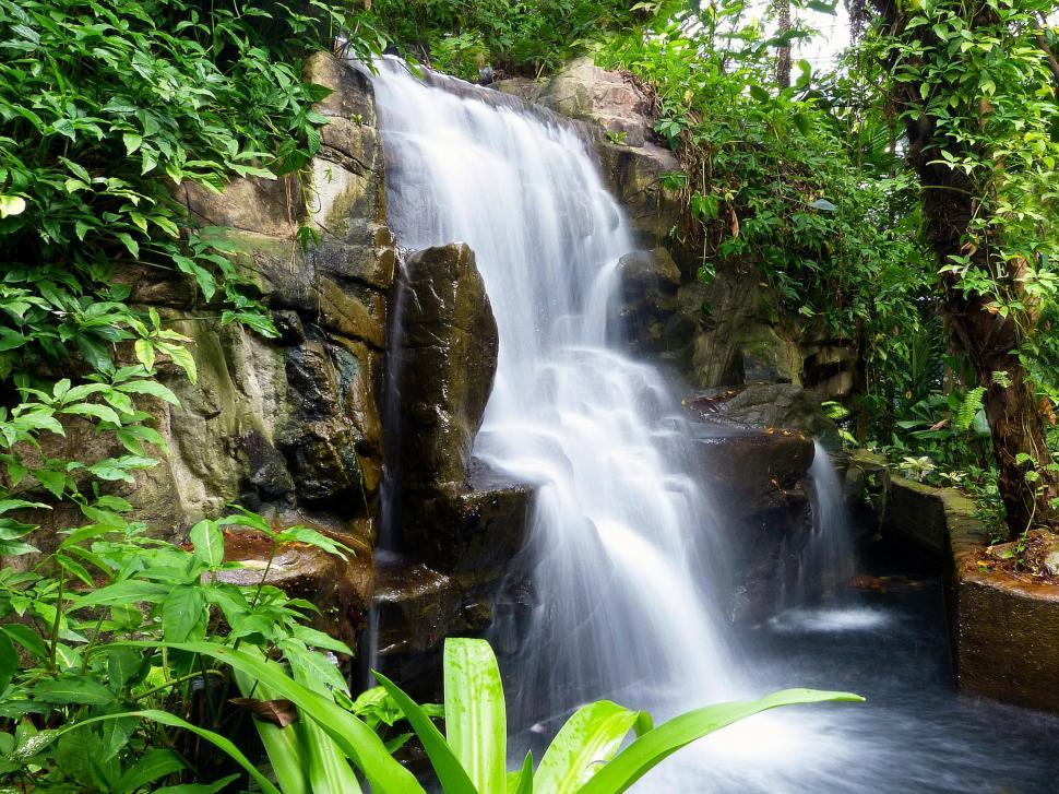 Download Free Stock HD Photo of Wild Waterfall Online