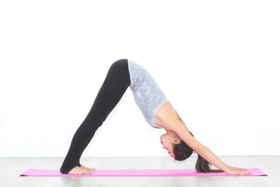 Download Free Stock HD Photo of Downward Facing Dog Pose Online