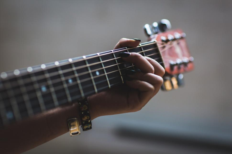 Download Free Stock HD Photo of Musician Playing Guitar Online