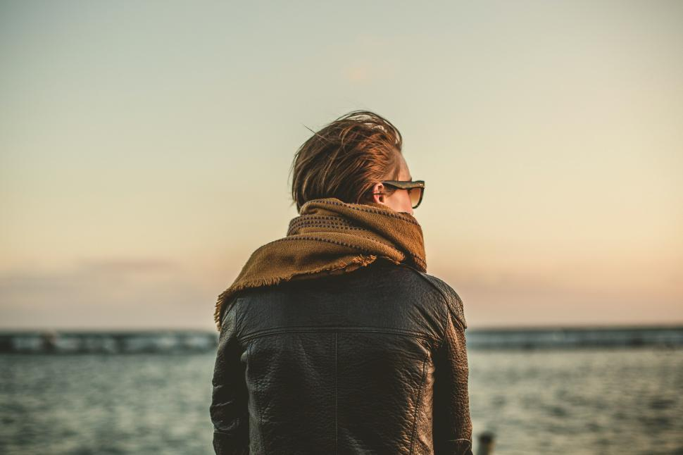 Download Free Stock HD Photo of Woman Looking At Horizon Online
