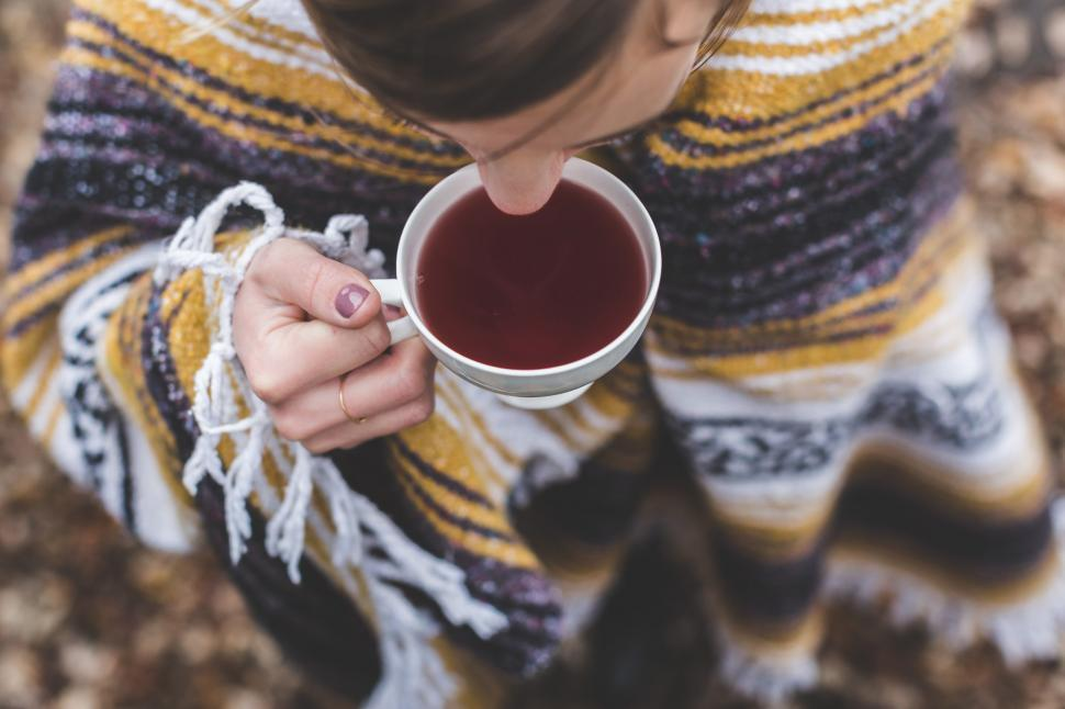 Download Free Stock HD Photo of Stay Cozy, Drink Tea Online