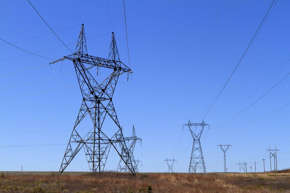 Download Free Stock HD Photo of Electrical grid Online
