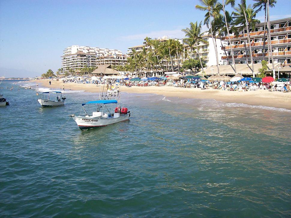 Download Free Stock HD Photo of Puerto Vallarta Shore Online