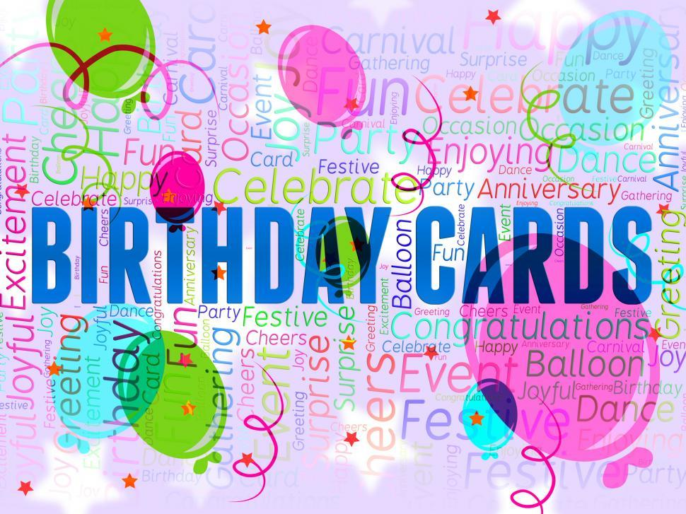 Get Free Stock Photos Of Birthday Cards Indicates Best Wishes And