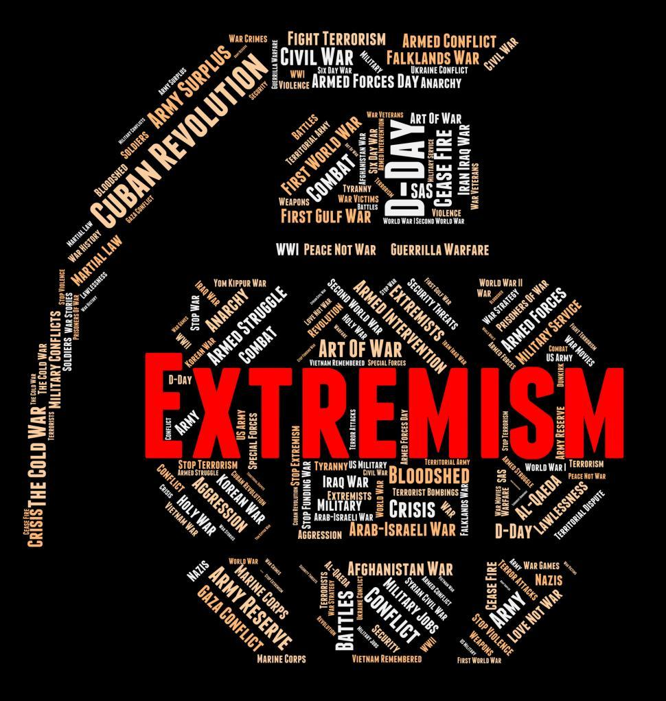 Download Free Stock HD Photo of Extremism Word Represents Fundamentalism Wordclouds And Text Online