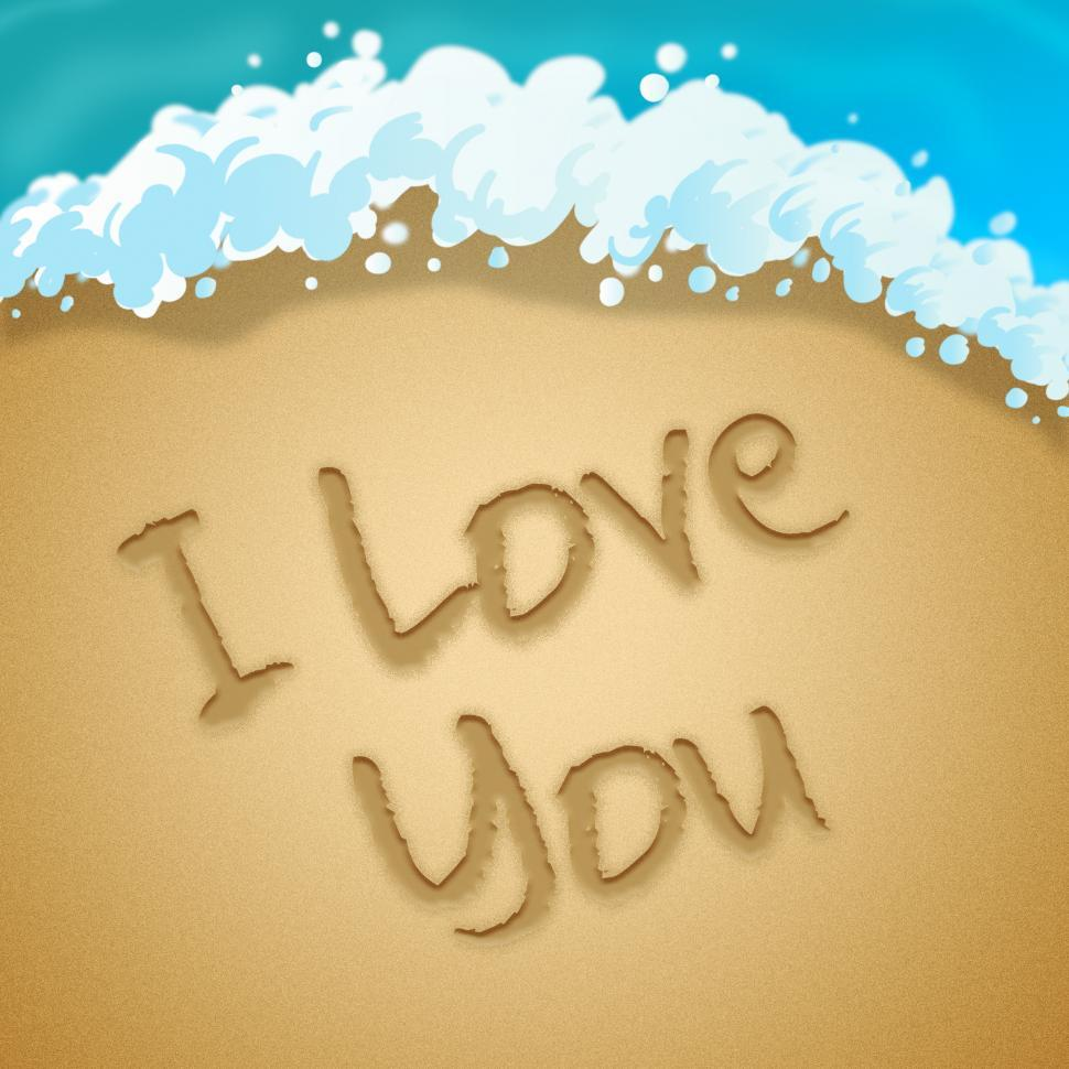 Download Free Stock HD Photo of Love You Means Loving Passion 3d Illustration Online