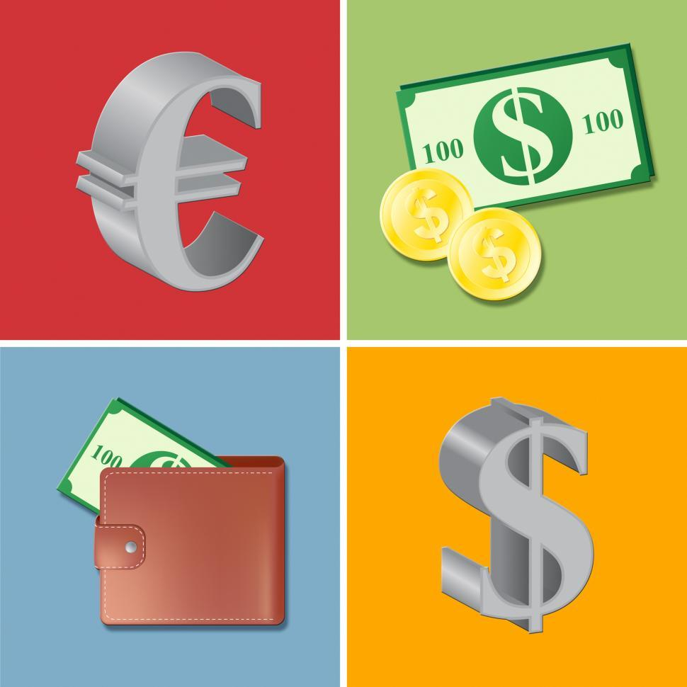Free Stock Hd Photo Of Currency Icons Shows Forex Trading And Fx Online