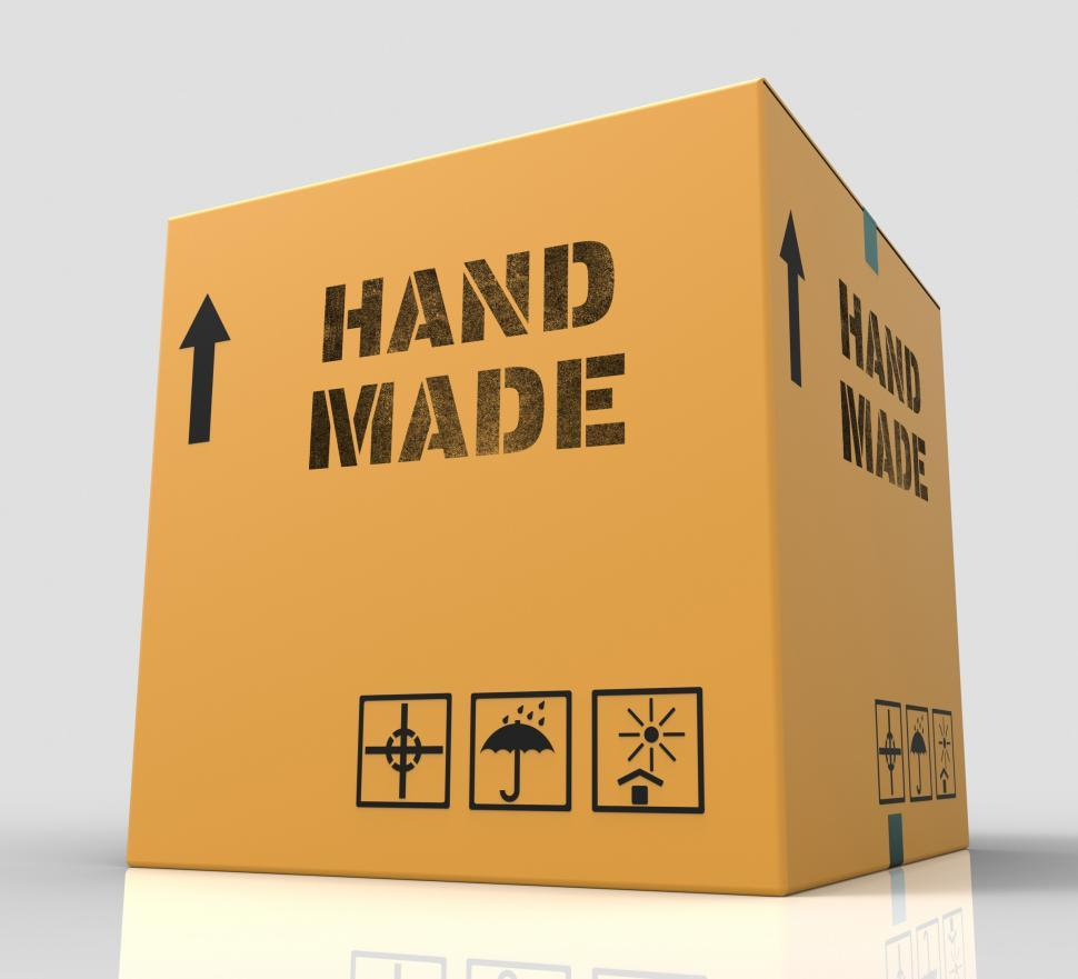 Download Free Stock HD Photo of Hand Made Shows Handcrafted Product 3d Rendering Online
