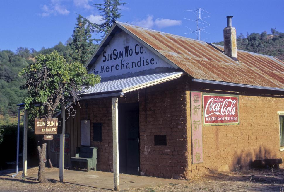Download Free Stock HD Photo of old general store Online