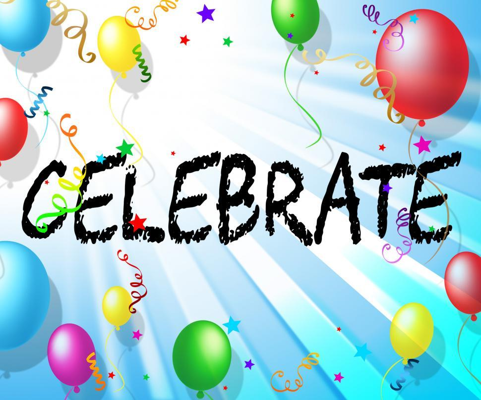 Download Free Stock HD Photo of Celebrate Balloons Shows Celebrates Decoration And Cheerful Online