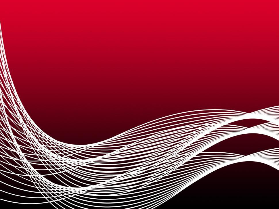 Download Free Stock HD Photo of Red Curvy Background Means Abstract Wallpaper Or Artistic Swirl Online