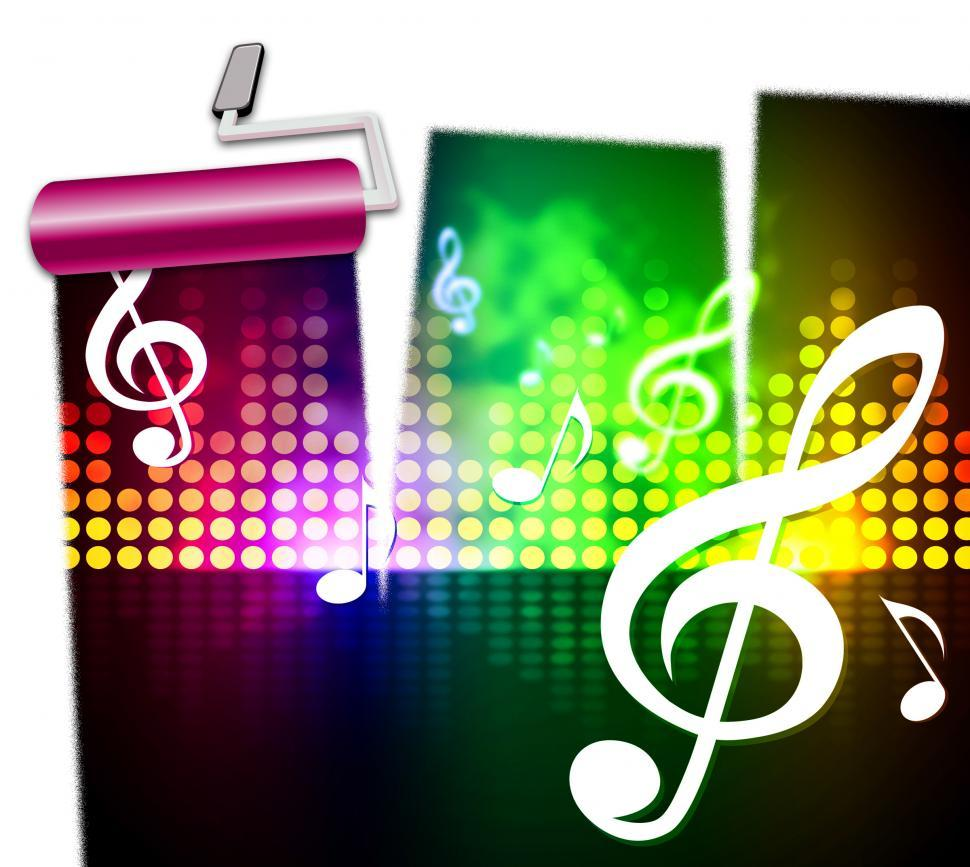 Get Free Stock Photos of Music Symbols Represents Singing