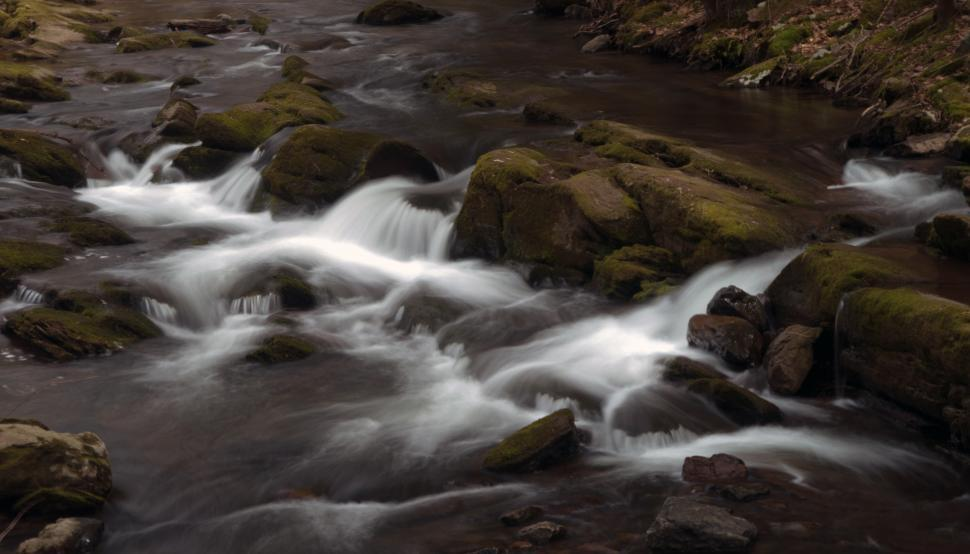 Download Free Stock HD Photo of Van Campens Glen Small Cascade Online