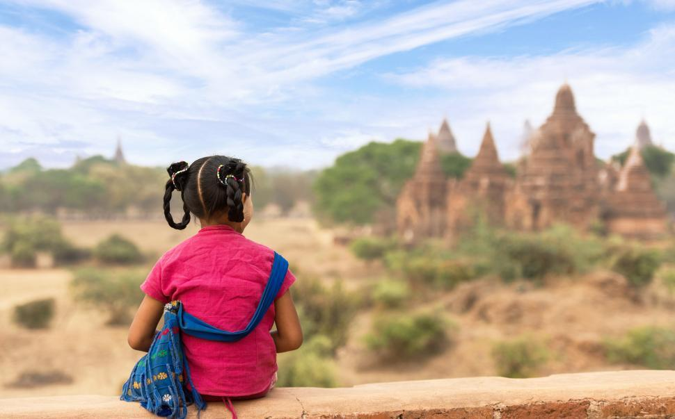 Download Free Stock HD Photo of Little Girl Observing Online