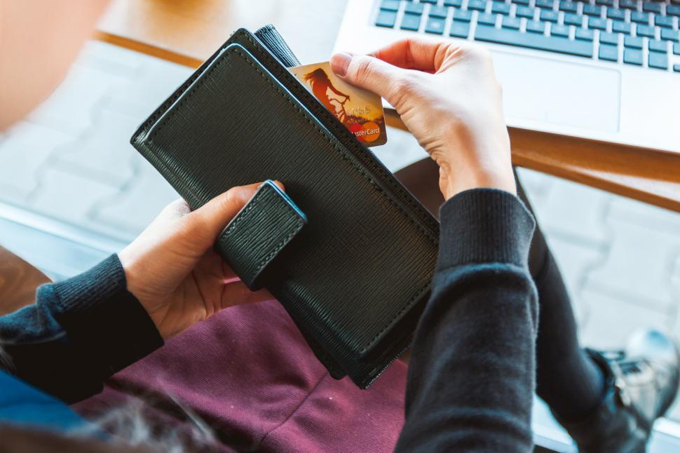 Download Free Stock HD Photo of Holding a Mastercard Online