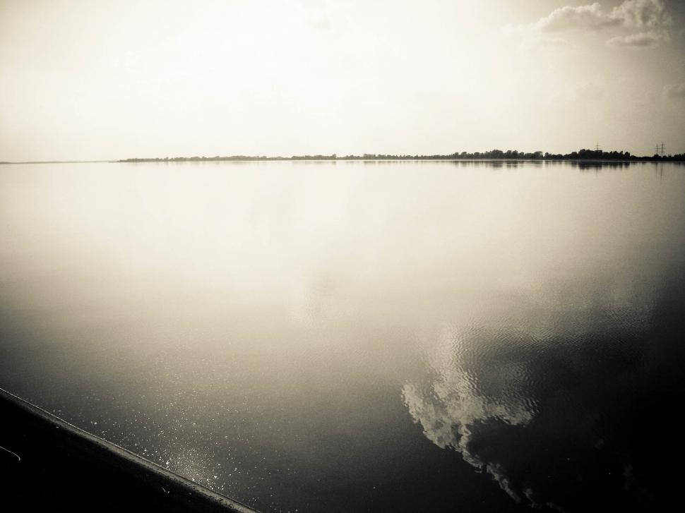 Download Free Stock HD Photo of dramatic calm lake Online