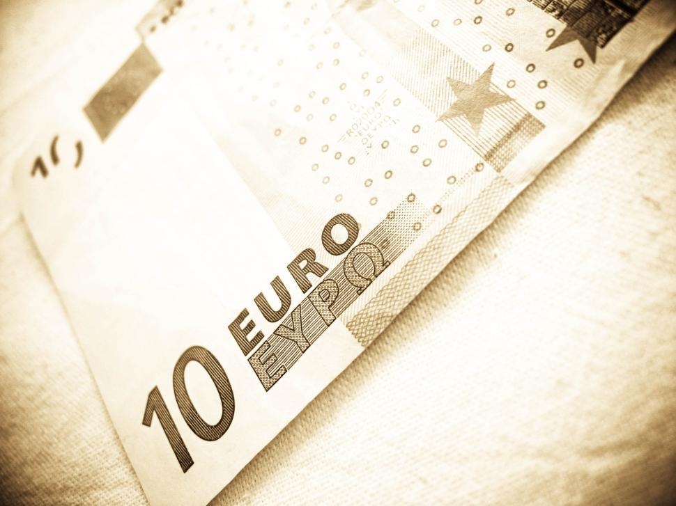 Download Free Stock HD Photo of euro banknote Online