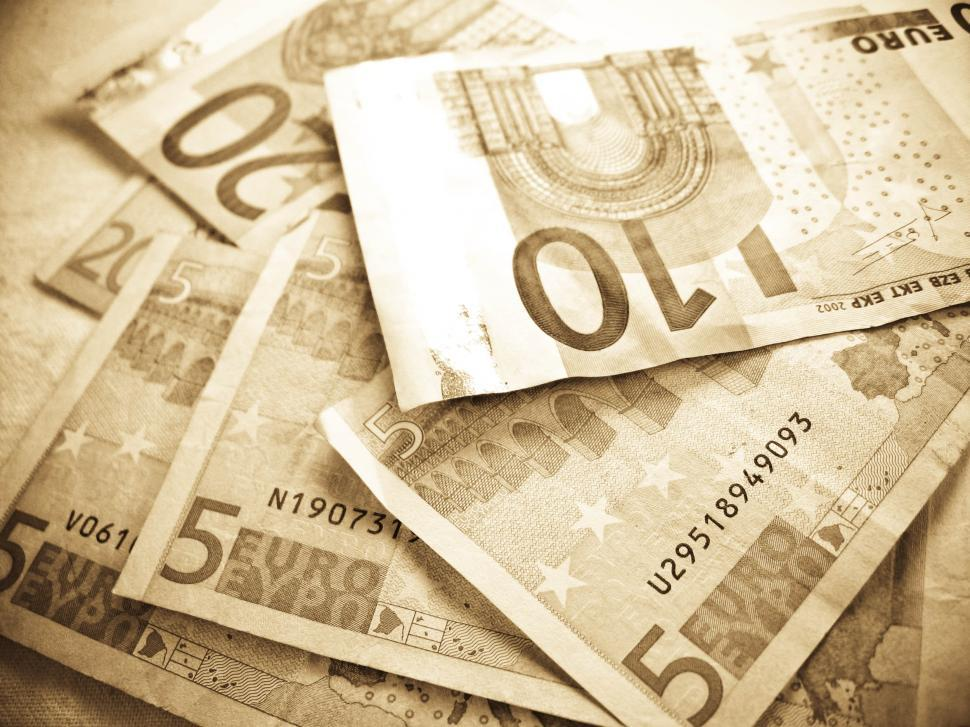 Download Free Stock HD Photo of euro banknotes Online