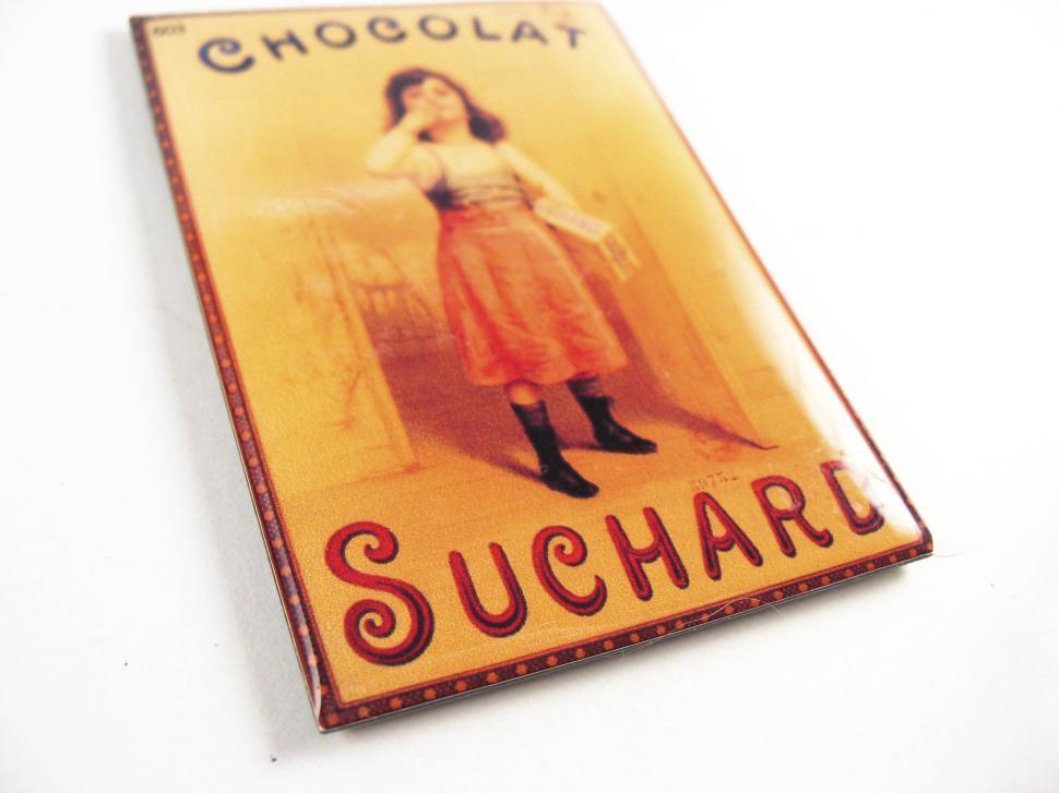 Download Free Stock HD Photo of Suchard fridge magnet Online
