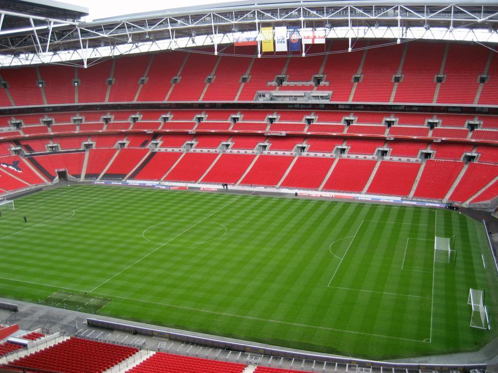 Download Free Stock HD Photo of wembley stadium Online