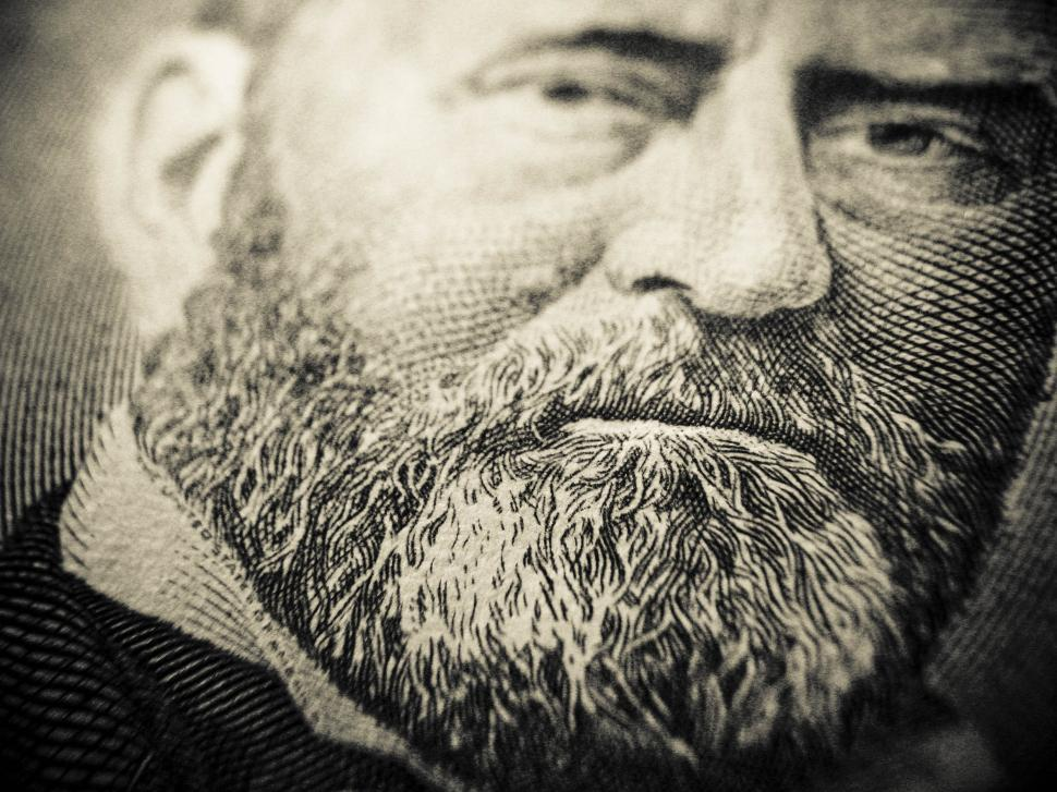 Download Free Stock HD Photo of Ulysses S. Grant on a Fifty Online
