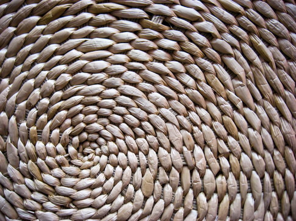 Download Free Stock HD Photo of Wicker texture Online
