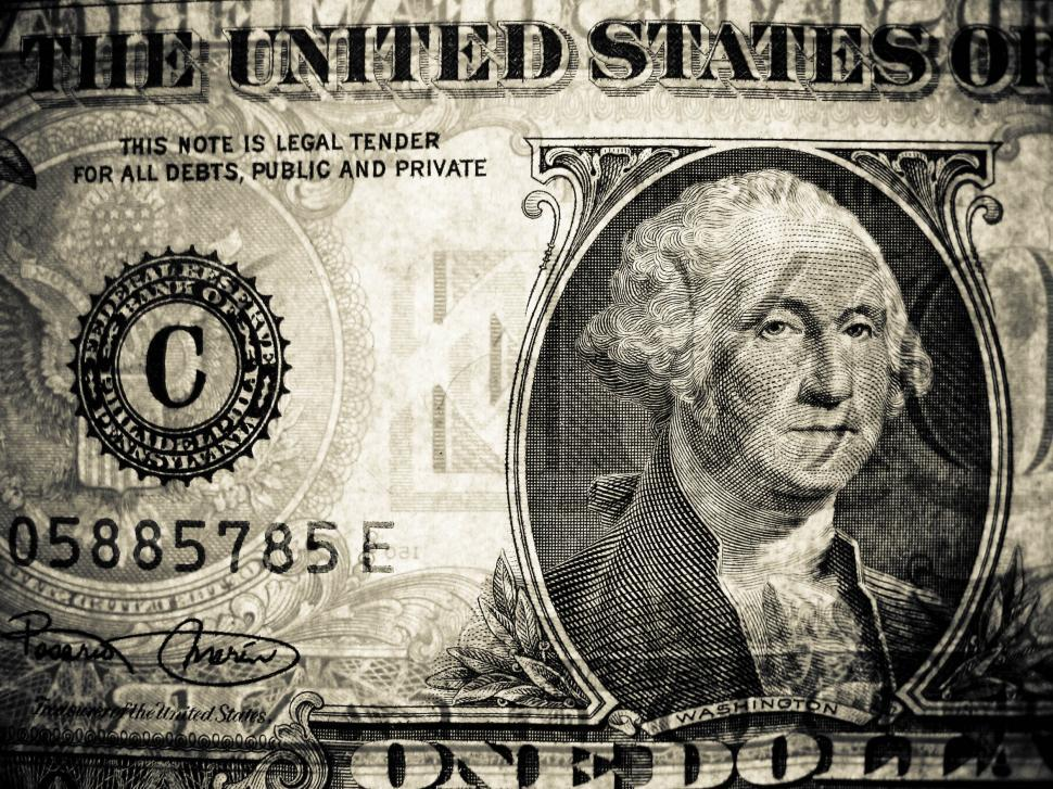 Download Free Stock HD Photo of one dollar bill Online