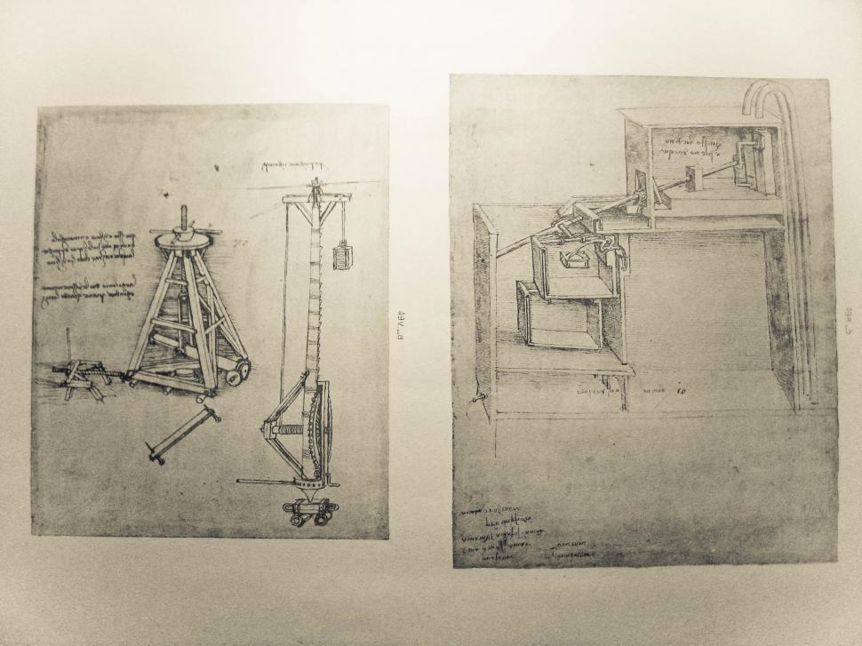 Download Free Stock HD Photo of Leonardo da Vinci illustrations Online