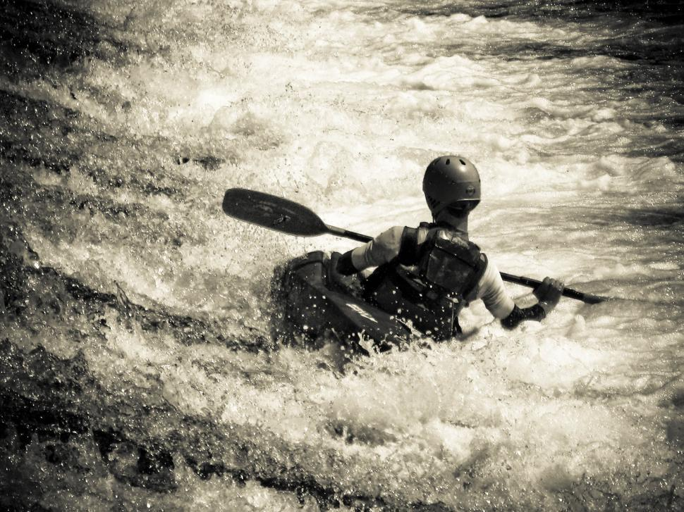 Download Free Stock HD Photo of Paddling on river Online