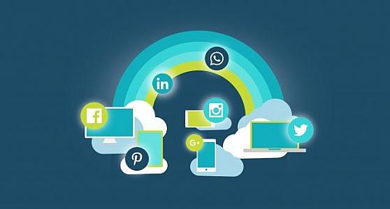 mídias sociais para primeiros clientes