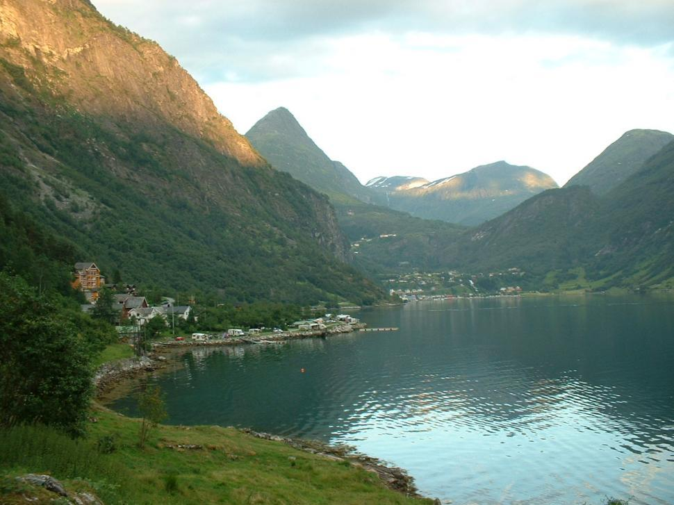 Download Free Stock HD Photo of Fjord in Norway Online