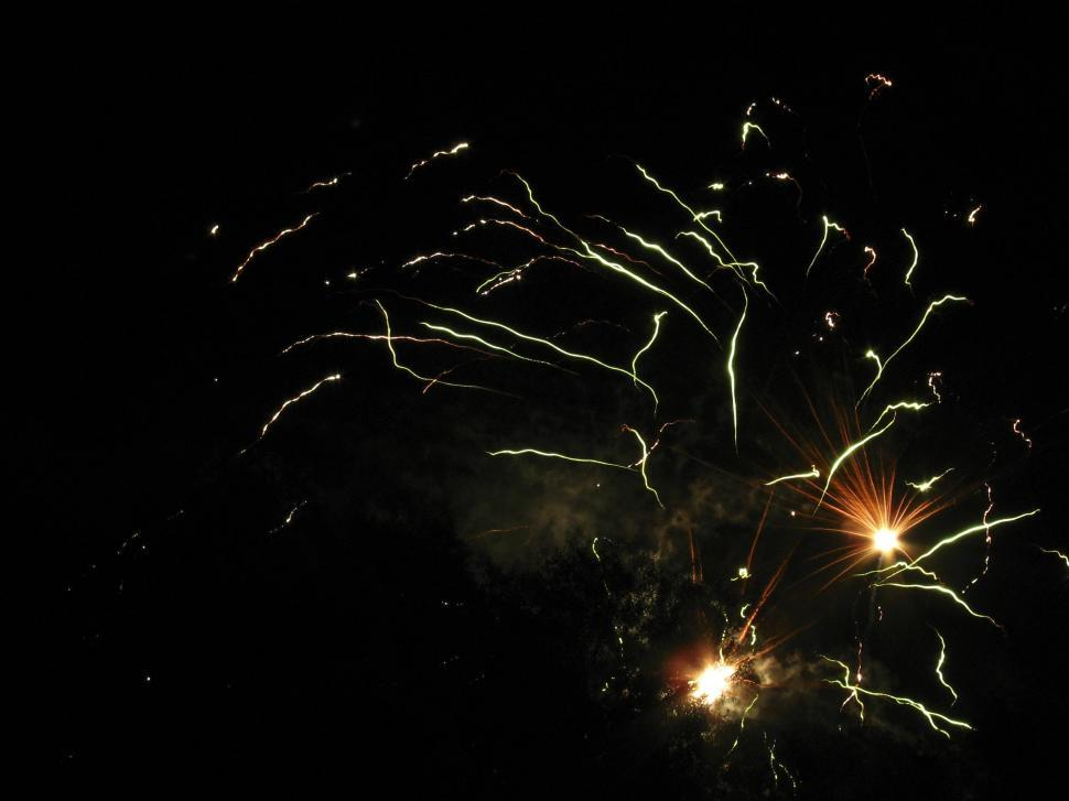 Download Free Stock HD Photo of sparks fly in the sky Online