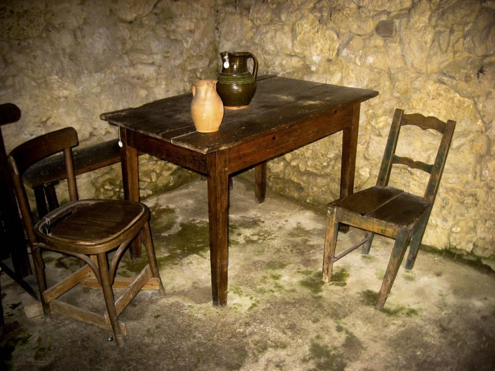 Download Free Stock HD Photo of antique table set Online