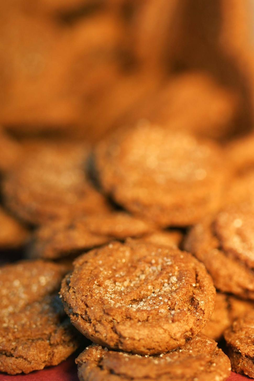 Download Free Stock Photo of Fresh ginger snaps