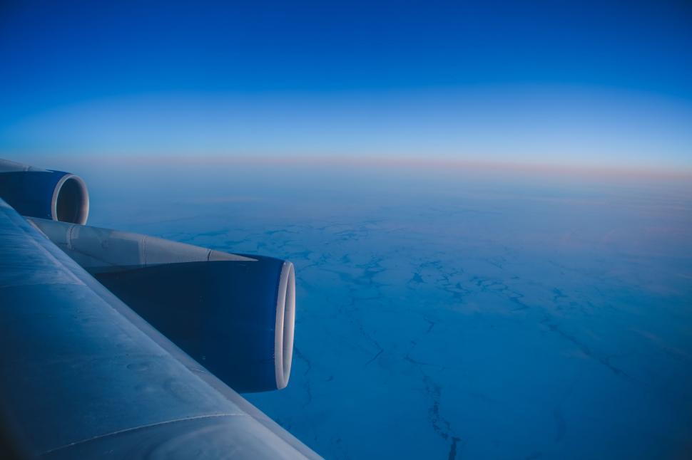 Download Free Stock Photo of sky,  azure,  clouds,  cloud,  weather,  cloudscape,  air,  atmosphere,  wing,  clear,  day,  summer,  sun,  heaven,  sunlight,  light,  cloudy,  fluffy,  outdoors,  environment,  climate,  airfoil,  high,  space,  overcast,  blue,  sunny,  landscape,  clean