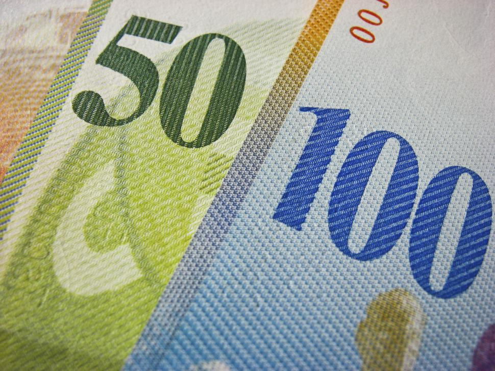 Download Free Stock HD Photo of 50 and 100 swiss francs Online