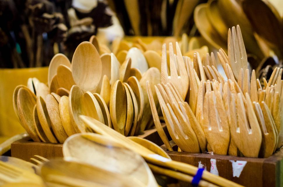 Download Free Stock Photo of Spoon and Fork