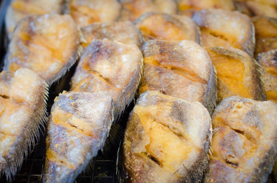 Download Free Stock Photo of Fried fish