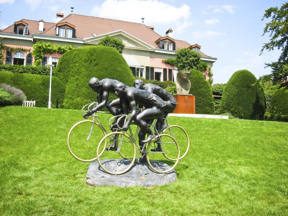 Download Free Stock Photo of Olympic museum lausanne