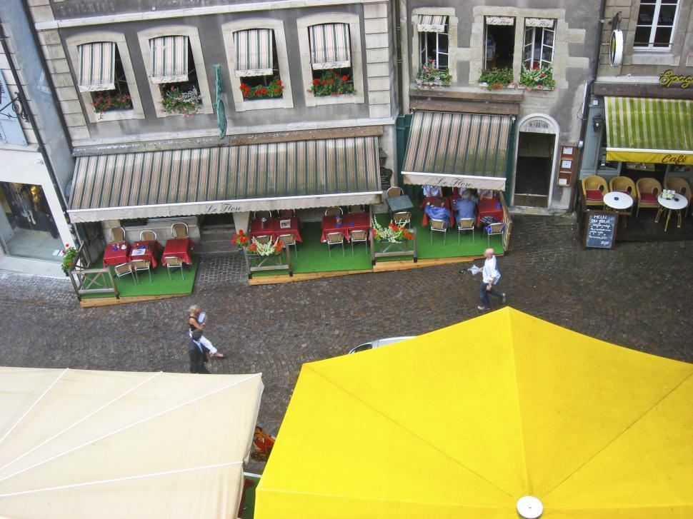 Download Free Stock Photo of European street view