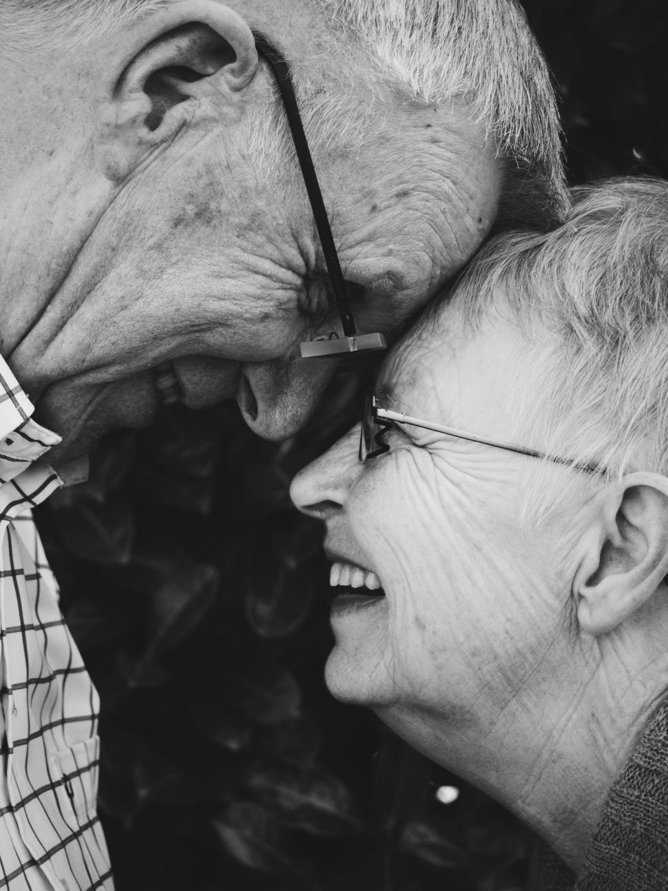 Download Free Stock Photo of man male people couple adult senior happy portrait mature love caucasian smile happiness person elderly together old face lifestyle men smiling hair grandma retired two retirement husband wife expression family romance