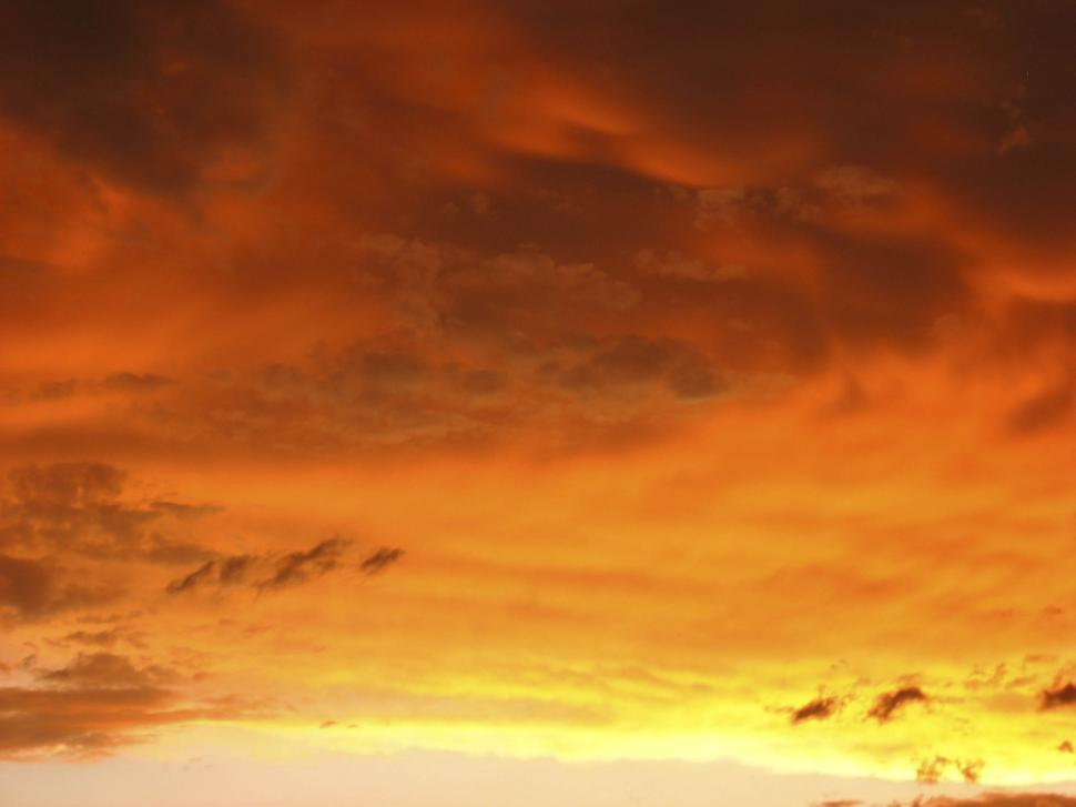 Download Free Stock HD Photo of colorful evening sky Online